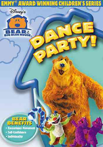 BEAR IN THE BIG BLUE HOUSE:DANCE PART BY BEAR IN THE BIG BLUE (DVD)