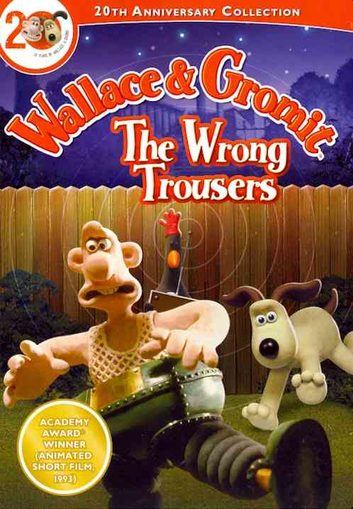 WALLACE GROMIT: WRONG TROUSERS BY WALLACE GROMIT (DVD)